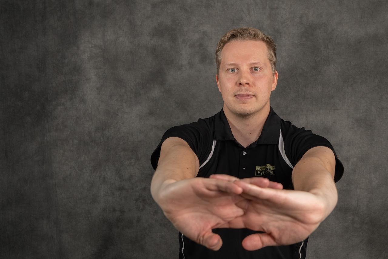 Fysioterapeutti Lasse Hytönen